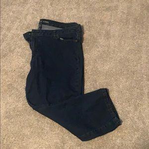 Michael Korda size 14 Capri jeans